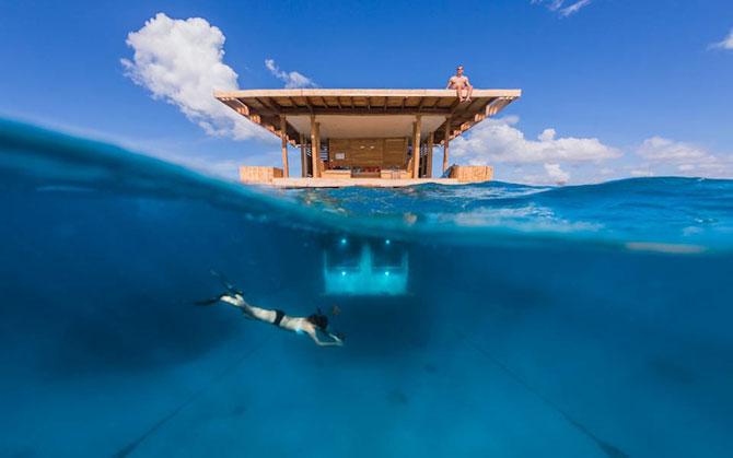 Statiune africana, cu dormitor sub ape - Poza 1