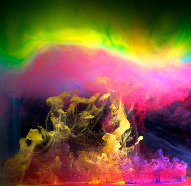 Flori subacvatice in cerneala cu Mark Mawson - Poza 4