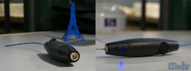 3Doodler, markerul care deseneaza pe aer - Poza 2