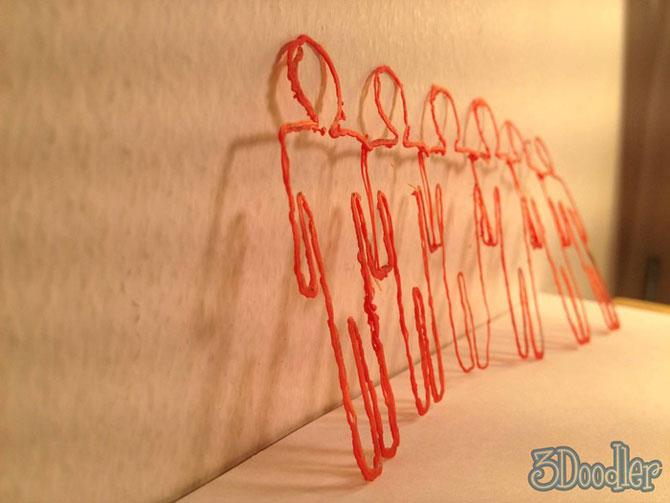 3Doodler, markerul care deseneaza pe aer - Poza 3