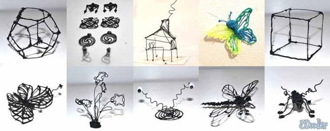 3Doodler, markerul care deseneaza pe aer - Poza 4