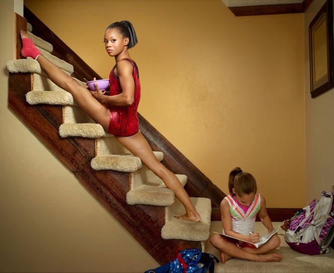 Acasa la Olimpicii americani din editia 2012 - Poza 7