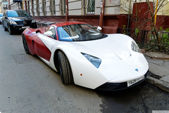 Marussia - Supercarul rusesc iese in strada - Poza 1