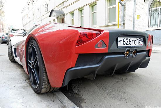 Marussia - Supercarul rusesc iese in strada - Poza 4