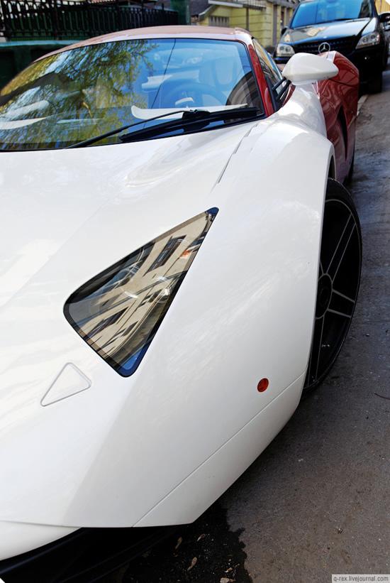 Marussia - Supercarul rusesc iese in strada - Poza 6