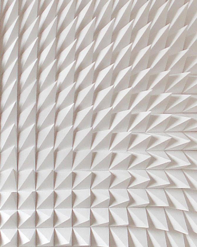 Matthew Shlian sculpteaza mirat in hartie - Poza 3