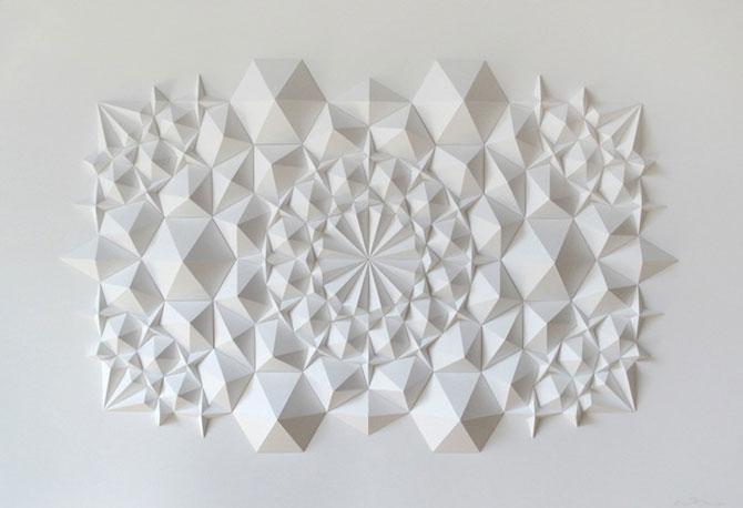 Matthew Shlian sculpteaza mirat in hartie - Poza 5