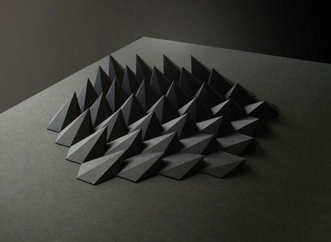 Matthew Shlian sculpteaza mirat in hartie - Poza 7