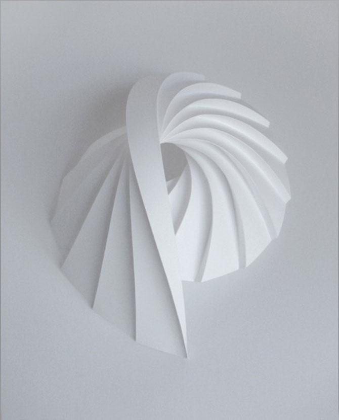 Matthew Shlian sculpteaza mirat in hartie - Poza 10