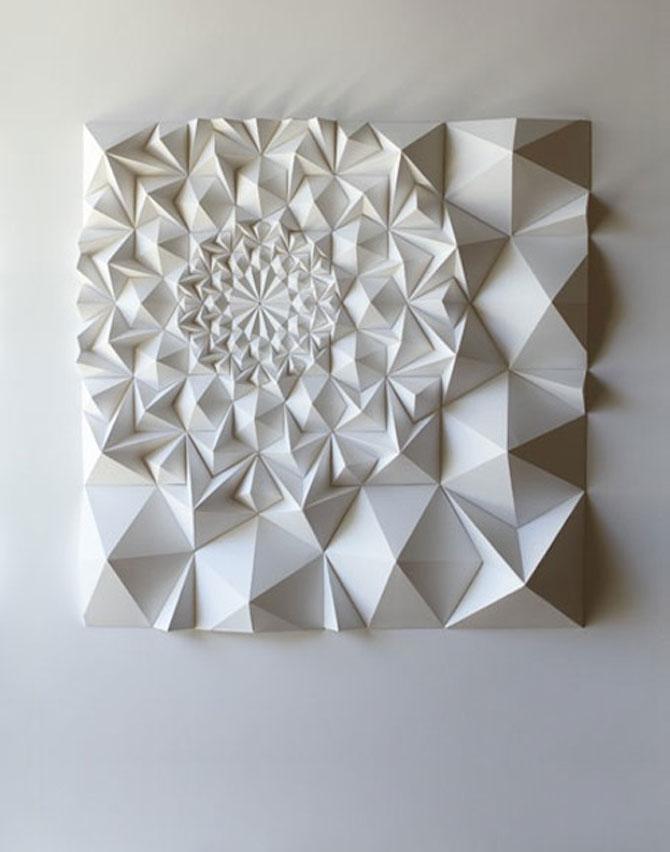 Matthew Shlian sculpteaza mirat in hartie - Poza 11