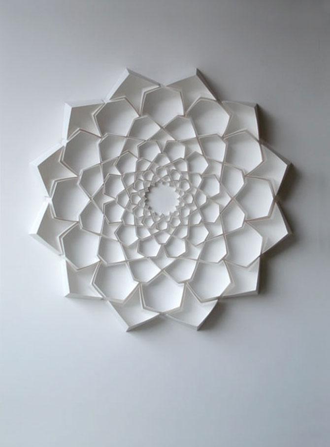 Matthew Shlian sculpteaza mirat in hartie - Poza 12