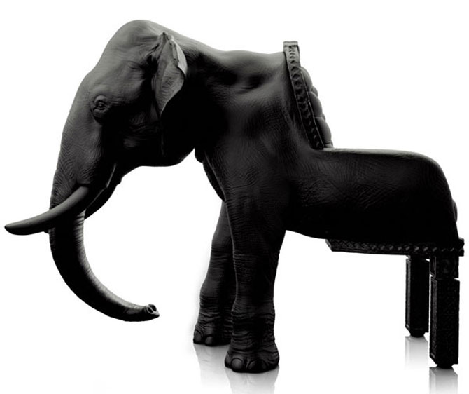 Fotoliul zeului Ganesha de Maximo Riera - Poza 1