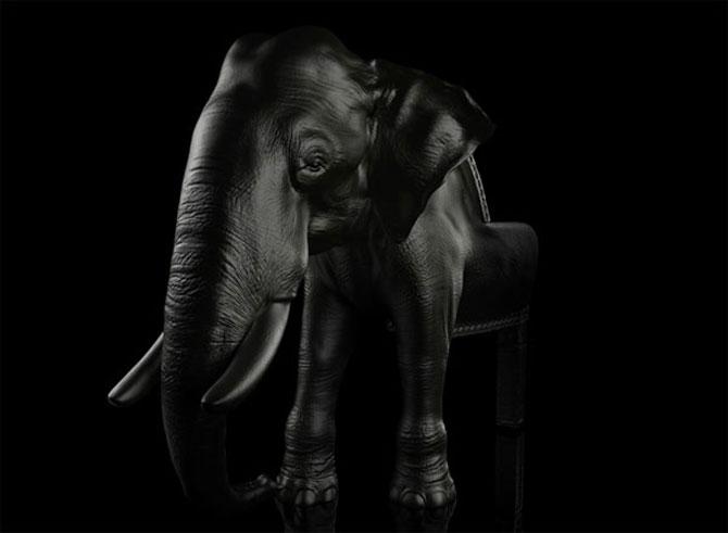 Fotoliul zeului Ganesha de Maximo Riera - Poza 4