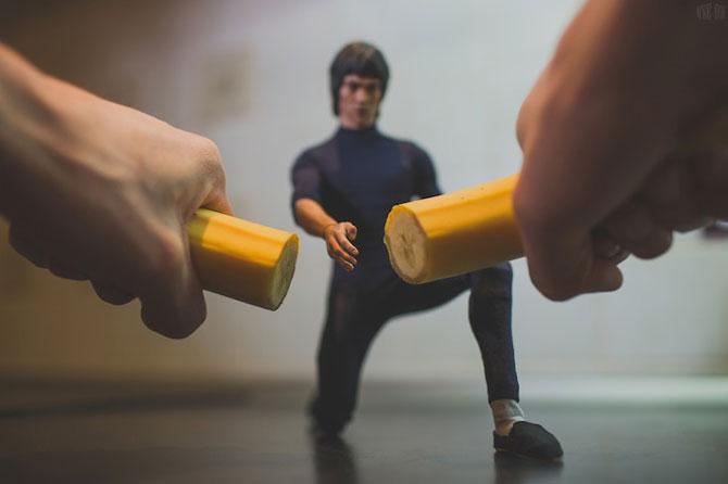 Bruce Lee pregateste un mic-dejun sanatos - Poza 3