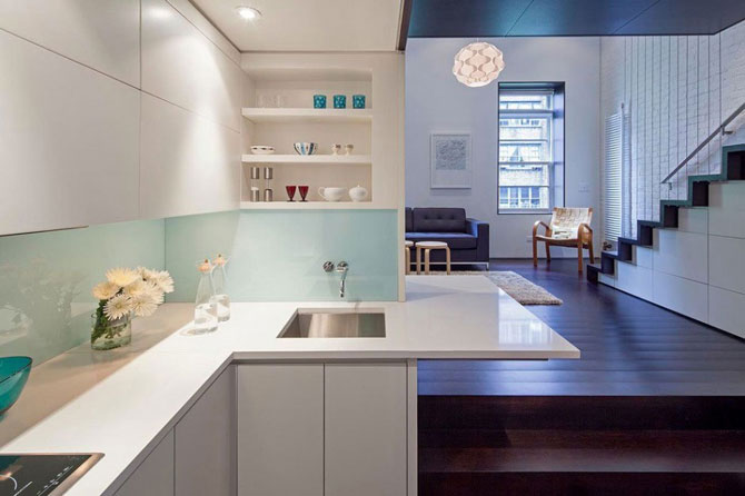 Micro-loft mic, dar elegant la Manhattan - Poza 4