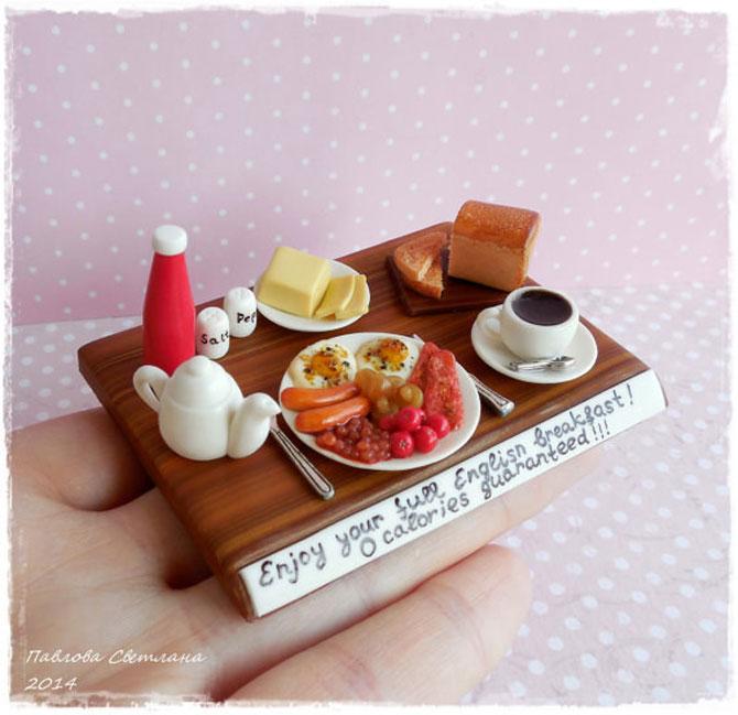 Miniaturi si bijuterii delicioase, cu mancare - Poza 3