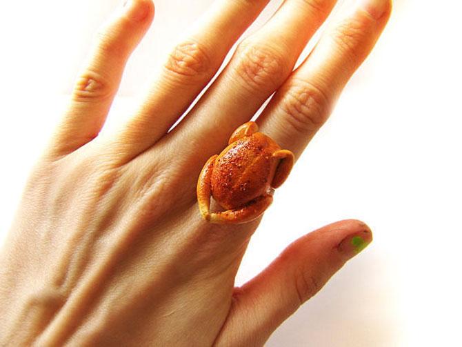Miniaturi si bijuterii delicioase, cu mancare - Poza 8