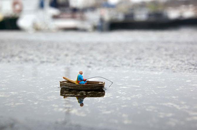 Atentie unde calci! Slinkachu invadeaza Londra - Poza 12