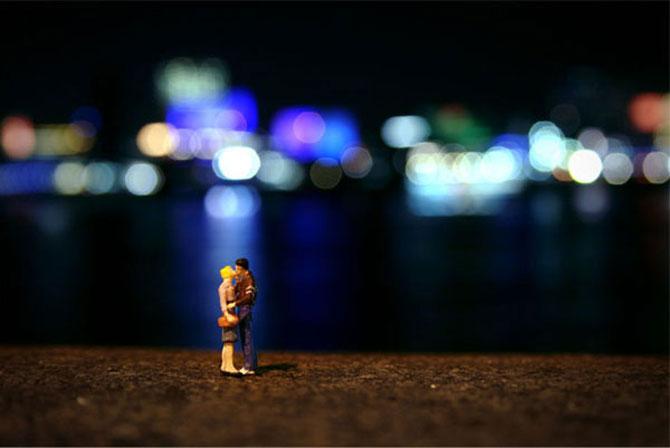 Atentie unde calci! Slinkachu invadeaza Londra - Poza 18