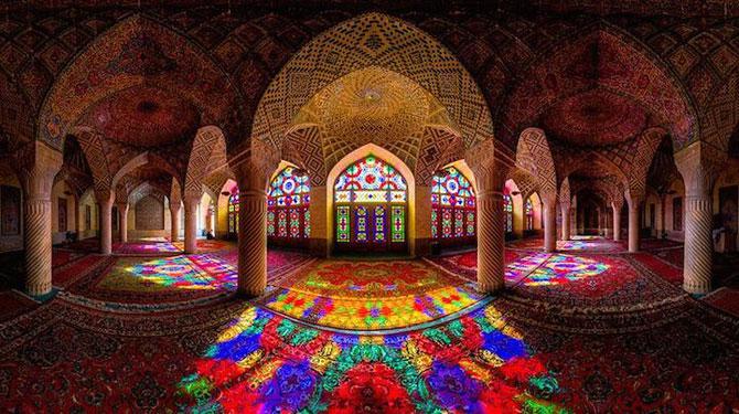 Moscheea caleidoscop din Iran - Poza 1