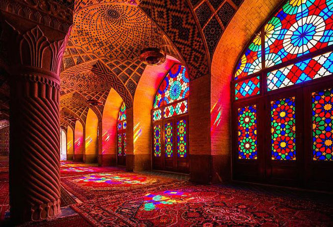 Moscheea caleidoscop din Iran - Poza 2