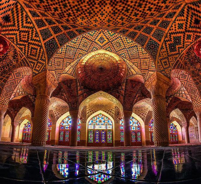 Moscheea caleidoscop din Iran - Poza 3
