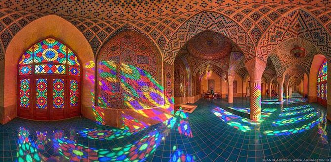 Moscheea caleidoscop din Iran - Poza 4