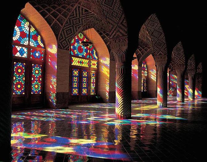 Moscheea caleidoscop din Iran - Poza 5