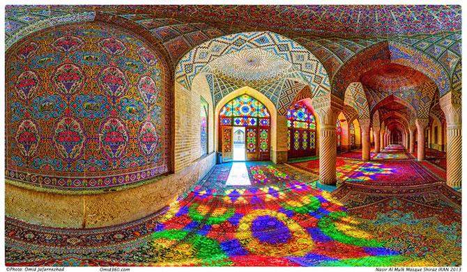 Moscheea caleidoscop din Iran - Poza 6