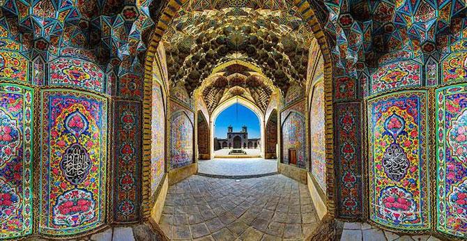 Moscheea caleidoscop din Iran - Poza 7