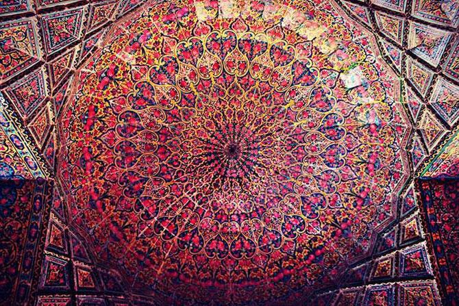 Moscheea caleidoscop din Iran - Poza 8