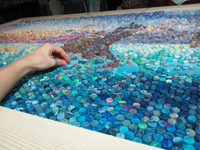 Mozaicuri din plastilina, realizate de o mama - Poza 4
