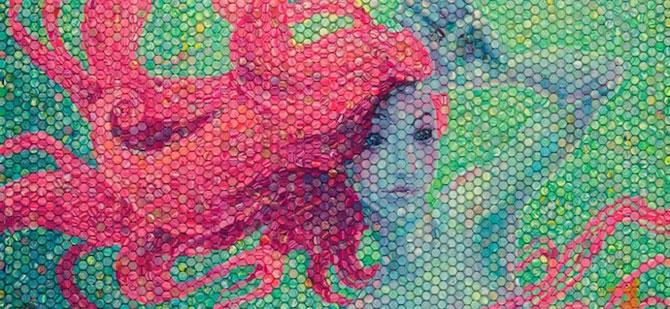Mozaicuri din plastilina, realizate de o mama - Poza 6