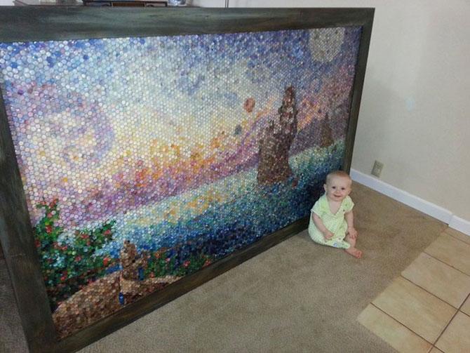 Mozaicuri din plastilina, realizate de o mama - Poza 8