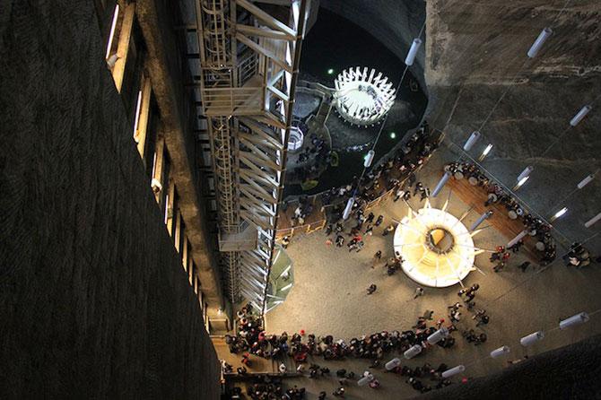 Salina Turda, cel mai mare muzeu al sarii din lume - Poza 10