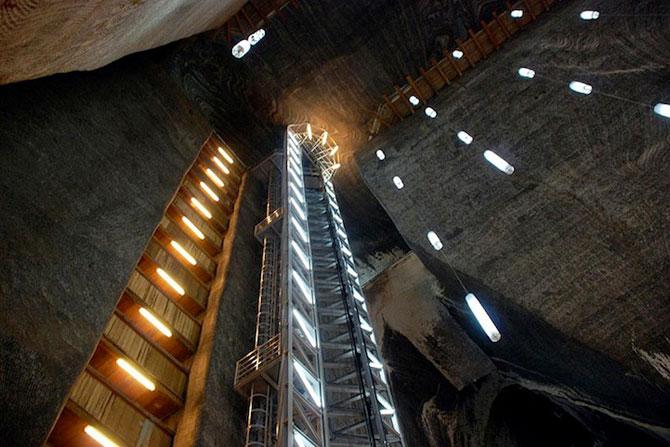 Salina Turda, cel mai mare muzeu al sarii din lume - Poza 11