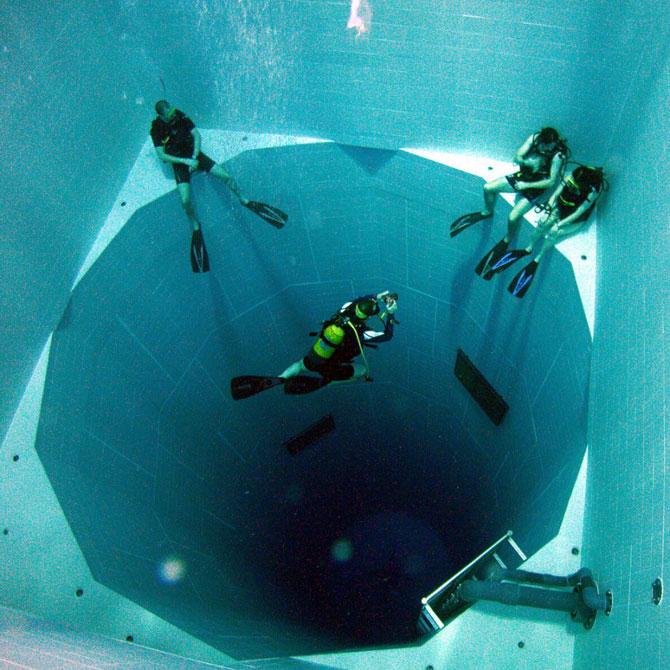 Nemo 33, cea mai adanca piscina din lume - Poza 3
