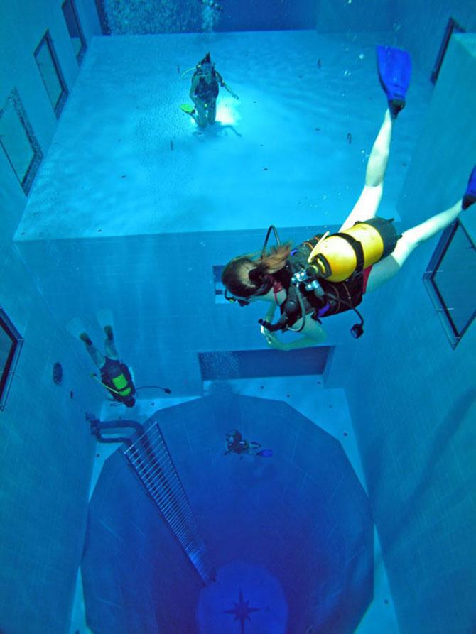 Nemo 33, cea mai adanca piscina din lume - Poza 8