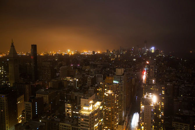 Uraganul Sandy a cufundat New Yorkul in bezna - Poza 3