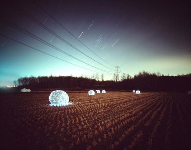 Lee Euneyol aprinde noaptea pe campuri, prin copaci - Poza 6