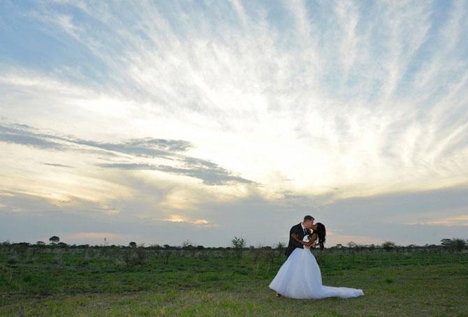 Nunta-safari, calare pe elefanti - Poza 8