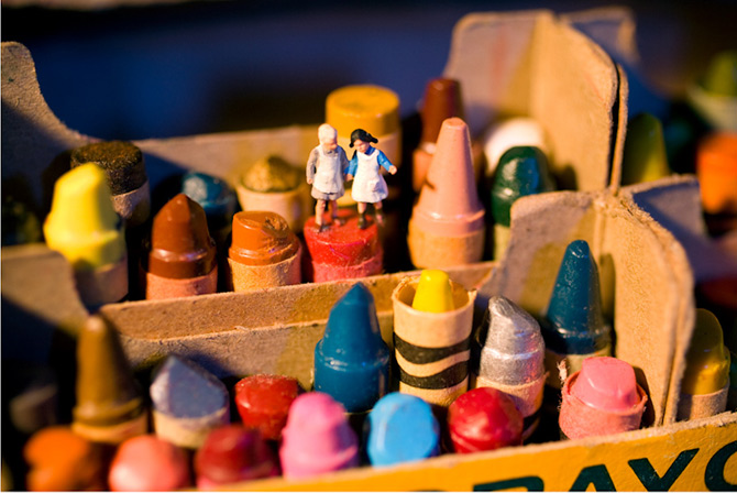 Teatru-foto cu miniaturi, de Audrey Heller - Poza 3