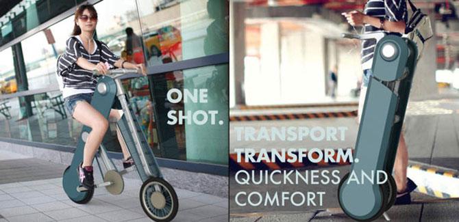 One Shot: Cea mai portabila bicicleta urbana - Poza 1
