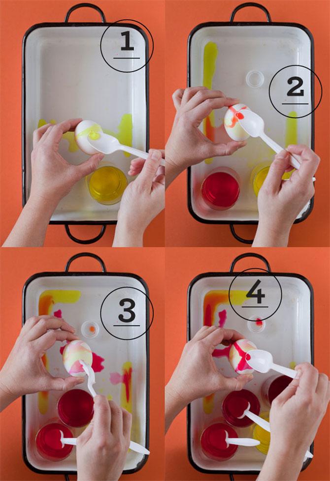 Acuarele pictate pe ouale de Pasti - Poza 2