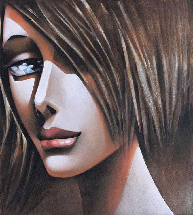 Femeile fatale pictate de Ira Tsantekidou - Poza 5