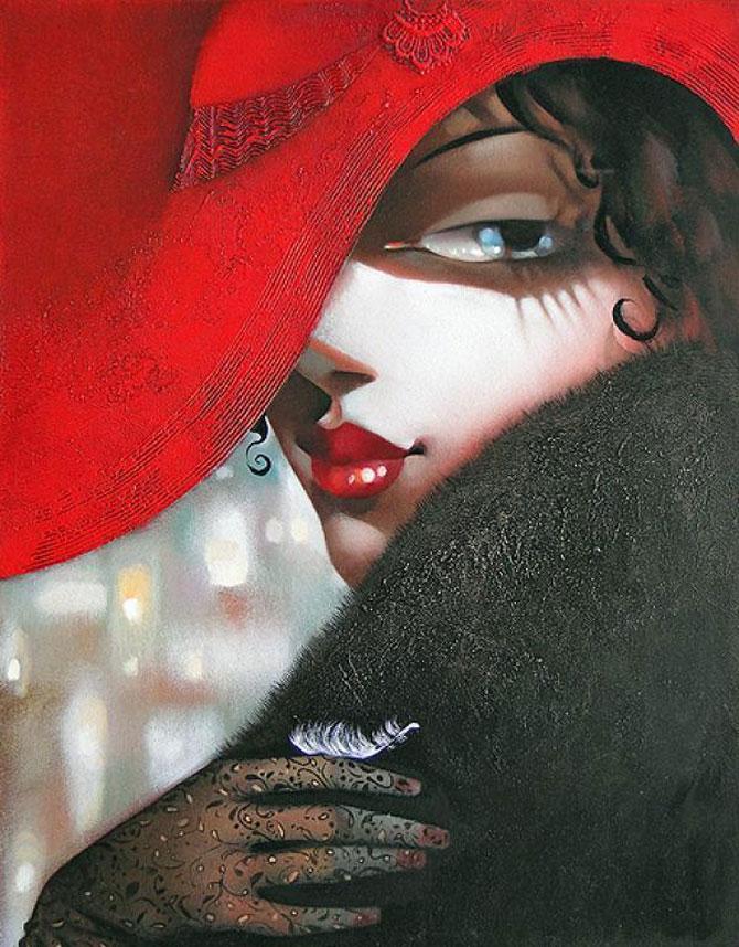 Femeile fatale pictate de Ira Tsantekidou - Poza 9