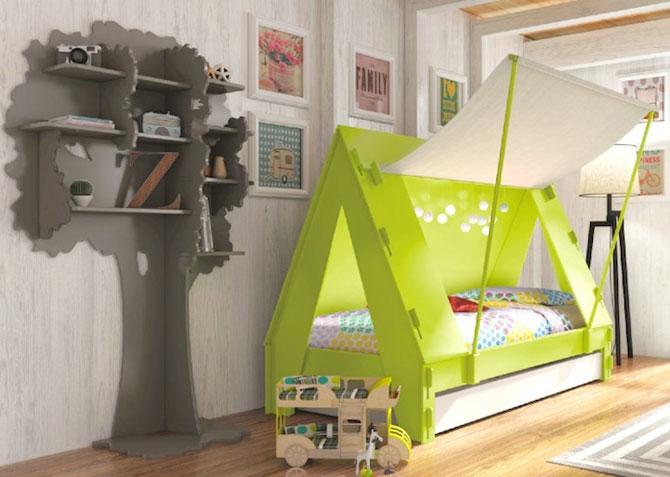 Paturi creative pentru copii, de la Mathy by Bols - Poza 4