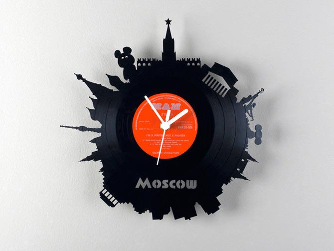 Orase pe vinil de Pavel Sidorenko