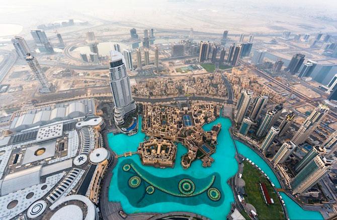 Dubai, fotografiat de la inaltime de Vadim Makhorov - Poza 1