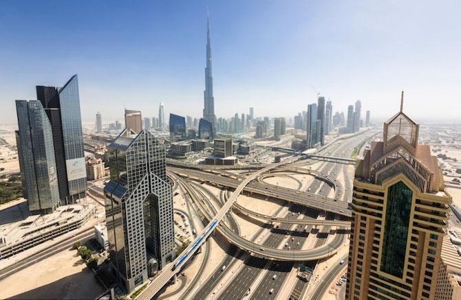 Dubai, fotografiat de la inaltime de Vadim Makhorov - Poza 2